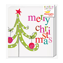 Buy Caroline Gardner Christmas Tree Charity Christmas Cards, Pack of 5 Online at johnlewis.com