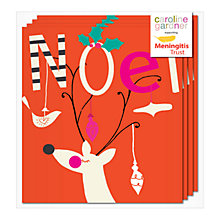 Buy Caroline Gardner Noel Deer Charity Christmas Cards, Box of 5 Online at johnlewis.com