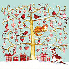 Buy Almanac Baubles And Snow Charity Christmas Cards, Box of 8 Online at johnlewis.com