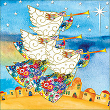 Buy Almanac Angel Fanfare Charity Christmas Cards, Box of 8 Online at johnlewis.com
