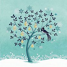 Buy Almanac Pear Tree Charity Christmas Cards, Box of 8 Online at johnlewis.com