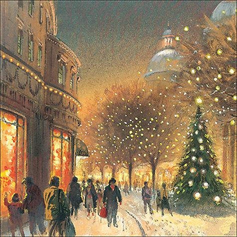 Buy Almanac Christmas Eve Charity Cards, Box of 8 Online at johnlewis.com
