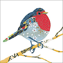 Buy Almanac Paper Robin Charity Christmas Cards, Box of 8 Online at johnlewis.com