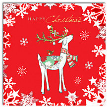 Buy Hammond Gower Proud Deer Charity Christmas Cards, Box of 5 Online at johnlewis.com