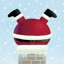 Buy Paperhouse Santa in a Chimney Charity Christmas Cards, Box of 6 Online at johnlewis.com