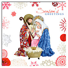 Buy Hammond Gower Mary And Joseph Charity Christmas Cards, Pack of 5 Online at johnlewis.com