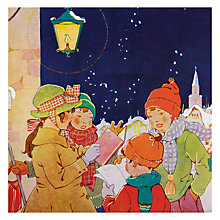 Buy Almanac The Carol Singers Charity Christmas Cards, Box of 8 Online at johnlewis.com