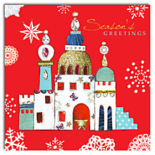 Buy Hammond Gower Bethlehem On Red Charity Christmas Cards, Pack of 5 Online at johnlewis.com
