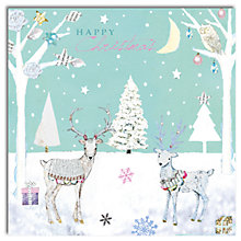 Buy Hammond Gower Winter Deer Charity Cards, Pack of 5 Online at johnlewis.com