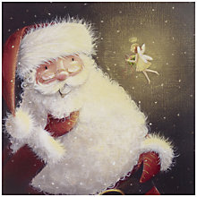 Buy UK Greetings Special Editions Santa And Angel Charity Christmas Cards, Box of 8 Online at johnlewis.com