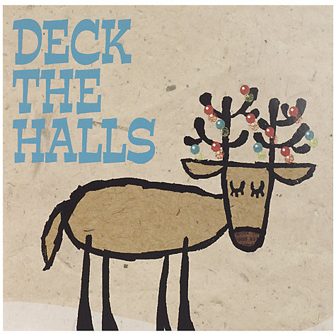 Buy UK Greetings Special Editions Deck The Halls Charity Christmas Cards, Box of 8 Online at johnlewis.com