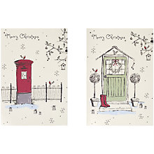 Buy UK Greetings Special Editions Post Box Charity Christmas Cards, Box of 8 Online at johnlewis.com