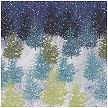 Buy UK Greeting Special Editions Glitter Forest Charity Christmas Cards, Box of 8 Online at johnlewis.com