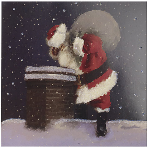 Buy UK Greetings Special Editions Santa And Chimney Charity Christmas Cards, Box of 8 Online at johnlewis.com