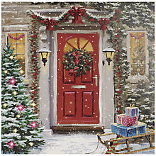Buy UK Greetings Special Editions Red Door Charity christmas Cards, Box of 8 Online at johnlewis.com