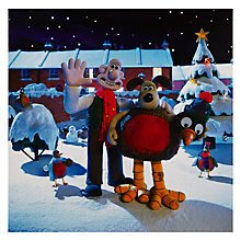 Buy UK Greetings Special Editions Wallace And Gromit Charity Christmas Cards, Box of 8 Online at johnlewis.com