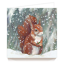 Buy Art Marketing Squirrel Charity Christmas Cards, Pack of 6 Online at johnlewis.com