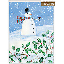 Buy Almanac Christmas Conversation Charity Cards, Box of 10 Online at johnlewis.com