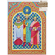Buy Almanac Adoration Of The Magi Charity Christmas Cards, Box of 10 Online at johnlewis.com