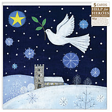Buy Almanac Flight Of Peace Charity Christmas Cards, Box of 5 Online at johnlewis.com