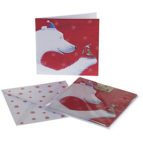 Buy UK Greetings Special Editions Snowman And Robin Charity Christmas Cards, Box of 8 Online at johnlewis.com