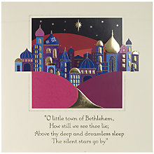 Buy UK Greetings Special Editions Bethlehem Charity Christmas Cards, Box of 8 Online at johnlewis.com