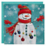 Buy UK Greetings Special Editions Snowman Garland Charity Christmas Cards, Box of 8 Online at johnlewis.com