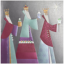 Buy UK Greetings Special Editions Three Kings Charity Christmas Cards, Box of 8 Online at johnlewis.com