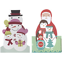 Buy UK Greetings Special Editions Russian Dolls Charity Christmas Cards, Box of 8 Online at johnlewis.com