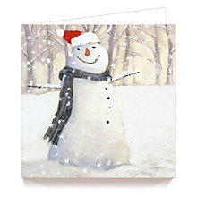 Buy Art Marketing The Snowman Charity Christmas Cards, Pack of 6 Online at johnlewis.com