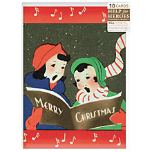Buy Almanac Carollers Charity Christmas Cards, Box of 10 Online at johnlewis.com