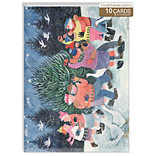 Buy Almanac Dancing Round The Tree Charity Christmas Cards, Box of 10 Online at johnlewis.com