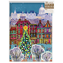 Buy Almanac The Christmas Tree Charity Cards, Box of 10 Online at johnlewis.com