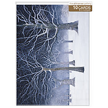 Buy Almanac Starry Snow Greenwich Park Christmas Cards, Box of 10 Online at johnlewis.com