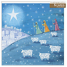 Buy Almanac Star Of Wonder Charity Christmas Cards, Box of 5 Online at johnlewis.com