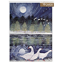Buy Almanac Snow Geese Christmas Cards, Box of 10 Online at johnlewis.com