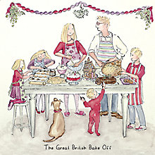 Buy Art Marketing The Great British Bake Off Charity Christmas Cards, Pack of 6 Online at johnlewis.com