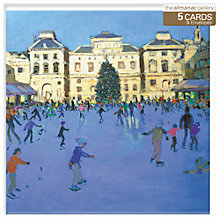 Buy Almanac Skaters at Somerset House Christmas Cards, Box of 5 Online at johnlewis.com