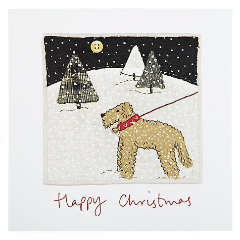 Buy Woodmansterne Snowy Walk Charity Christmas Cards, Box of 5 Online at johnlewis.com
