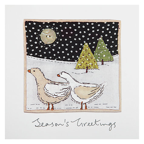 Buy Woodsterne Geese Are Laying Charity Christmas Cards, Box of 5 Online at johnlewis.com