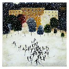 Buy Woodmansterne Dancing On Ice Charity Christmas Cards, box of 5 Online at johnlewis.com