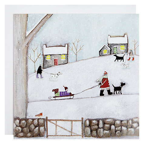 Buy Woodmansterne Winter Walkies Charity Christmas Cards, Box of 5 Online at johnlewis.com