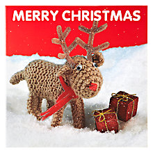 Buy Mint Reindeer Charity Christmas Cards, Box of 5 Online at johnlewis.com