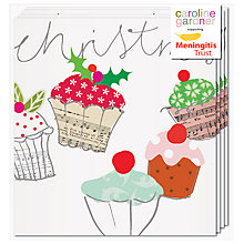 Buy Caroline Gardner Cupcakes Charity Christmas Cards, Box of 5 Online at johnlewis.com