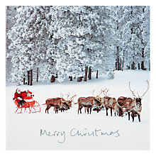 Buy Woodmansterne Sleigh Bells Ring Charity Christmas Cards, Box of 5 Online at johnlewis.com