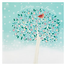 Buy Woodmansterne First Day Of Christmas Charity Cards, Box of 5 Online at johnlewis.com