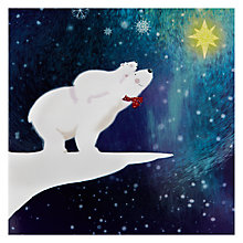 Buy Woodmansterne Star Bright charity Christmas Cards, Box of 5 Online at johnlewis.com