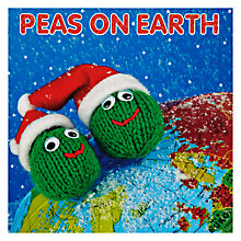 Buy Mint Peas On Earth Charity Christmas Cards, Box of 5 Online at johnlewis.com