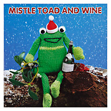 Buy Mint Mistle Toad Charity Christmas Cards, Box of 5 Online at johnlewis.com