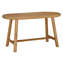 Buy Says Who for John Lewis Why Wood Hallway Bench, Oak Online at johnlewis.com